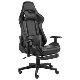 Spēļu krēsls VLX With Footrest 20489, melna/pelēka