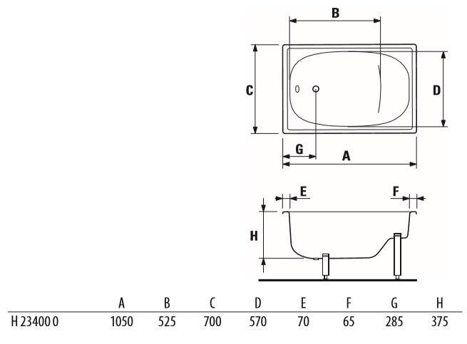 Jika Riga Mini 1050x700mm