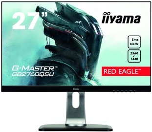 "Monitors Iiyama G-Master Red Eagle GB2760QSU-B1, 27"", 1 ms"