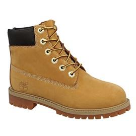 Timberland Premium WP 6 Inch Kids Boots Brown 38