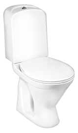 Gustavsberg Nordic 3 WC Horizontal White with Lid