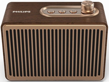 Bezvadu skaļrunis Philips TAVS300 Brown, 4 W