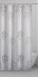 Штора для ванной Gedy Parfume TTE13221230, коричневый/белый/черный, 2000 мм x 1200 мм