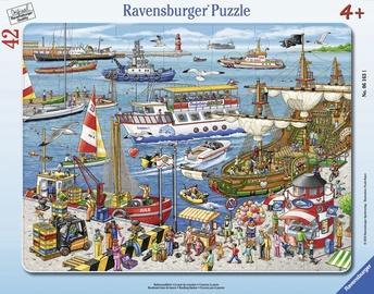 Ravensburger Frame Puzzle Bustling Harbor 42pcs 061631