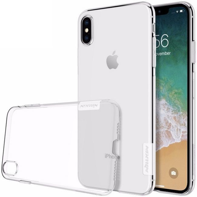 Nillkin Nature Ultra Thin Back Case For Apple iPhone XR Transparent