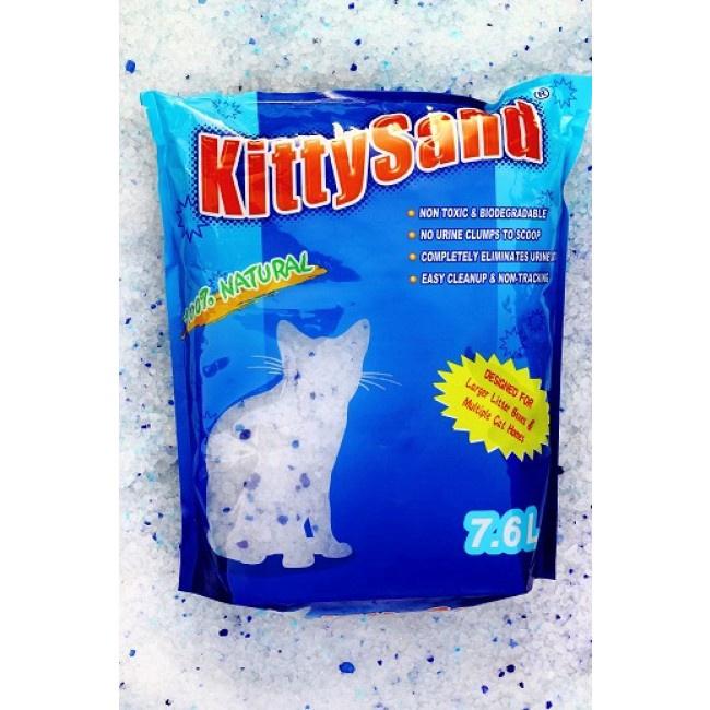 Kaķu smiltis Kitty Sand, silikona, 7,6 l