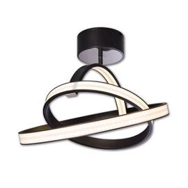 Gaismeklis Lis Lightning Ceiling Lamp Largo 5302PL/WW-H02 50W Black