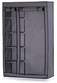 Skapis Homede Adara, pelēka, 110x45x170 cm