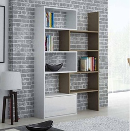 Cama Meble Paco Bookcase White/Latte