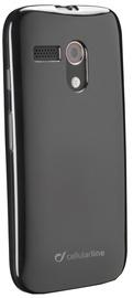 Cellular Line Shocking Back Case Motorola Moto G Black