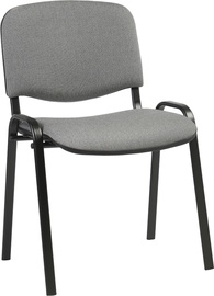 Apmeklētāju krēsls Home4you Iso Gray/Black 641649