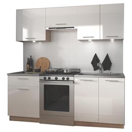Virtuves komplekts Halmar Marija Sonoma Oak/White, 2 m