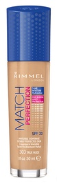 Rimmel London Match Perfection Foundation SPF20 30ml 303