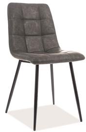 Ēdamistabas krēsls Signal Meble Look, pelēka