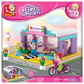Конструктор Sluban Girl's Dream Beauty Salon M38-B0526, 242 шт.
