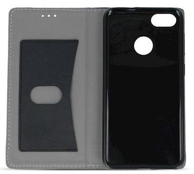 Mocco Smart Focus Book Case For Huawei P9 Lite 2017 Black/Blue