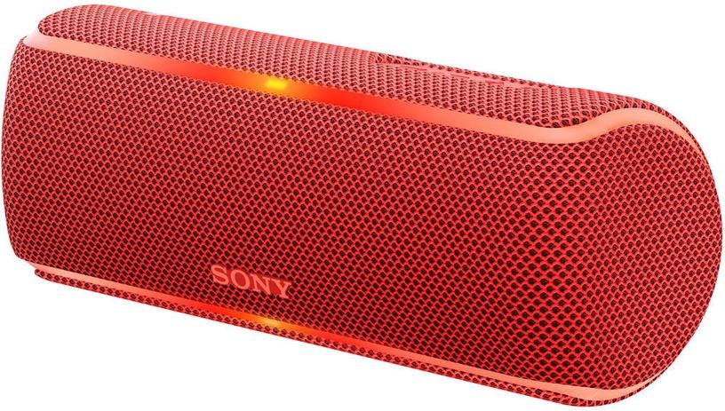 Bezvadu skaļrunis Sony SRS-XB21 Red