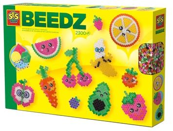 Мозаика SES Creative Beedz Iron On Beads Kawaii Fruit 06266