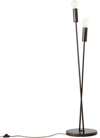 Brilliant Fila 92778/76 Floor Lamp 2x60W E27 Black