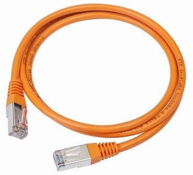 Gembird CAT e5 UTP Patch Cable Orange 1m