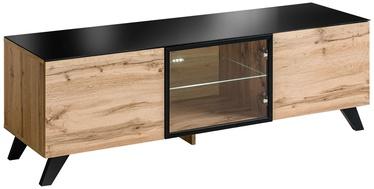ТВ стол ASM RTV Thin, коричневый, 1500x450x470 мм
