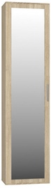 Top E Shop Duo Wardrobe With Mirror Sonoma Oak