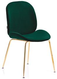 Ēdamistabas krēsls Homede Florin Bottle Green, 2 gab.