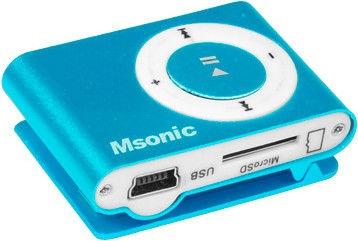 Mūzikas atskaņotājs Vakoss Msonic MM3610B, zila, - GB