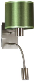 Candellux SYLWANA Wall Lamp 40W E14 With LED Switch Chrome Green