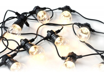 Platinet POLWT10Z LED Light Bulb Chain Black 5m