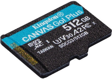 Kingston Canvas Go! Plus 512GB microSDXC UHS-I Class10