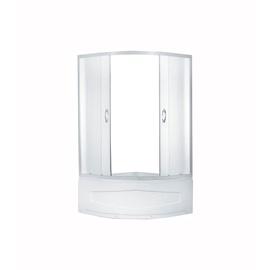Dušas kabīne Erlit ER0509T-C3, pusapaļā, 900x900x1950 mm