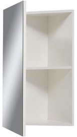 Sanservis Z-40 Corner Cabinet with Mirror 430x800x280mm White