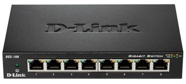 Tīkla centrmezgls D-Link DGS-108/E