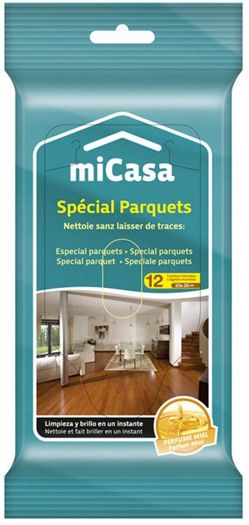 Micasa Wet Wipes For Wooden Floors 10pcs