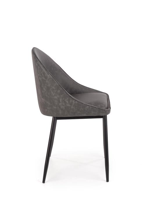 Ēdamistabas krēsls Halmar K406 Dark Grey, 1 gab.