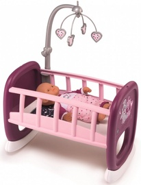 Smoby Baby Nurse Cradle With Carousel