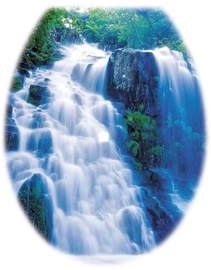 Karo-Plast Toilet Seat UNI Wodospad