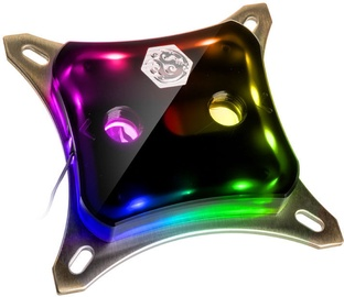BitsPower CPU Block Summit M Acrylic Black - Digital RGB