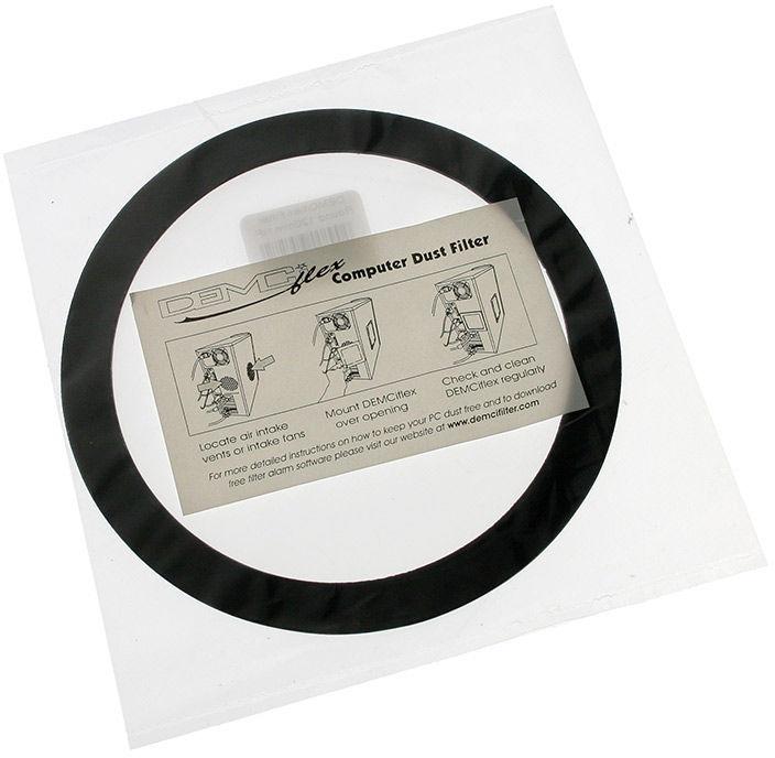 DEMCiflex Dust Filter 120mm Round Black/White DF0525