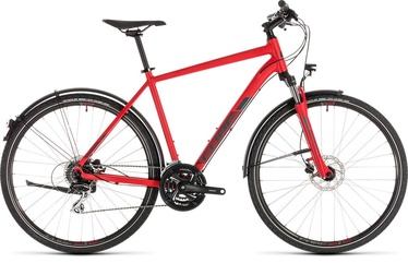 "Cube Nature Allroad 50 28"" Red Grey 19"