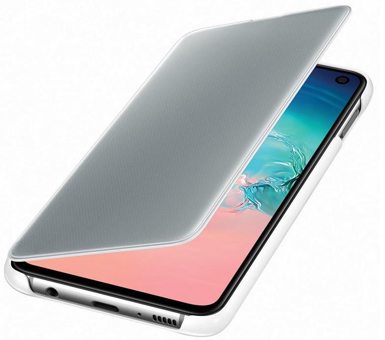 Samsung S-View Flip Cover For Samsung Galaxy S10e White