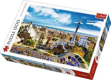 Puzle Trefl Park Guell Barcelona 26147, 1500 gab.
