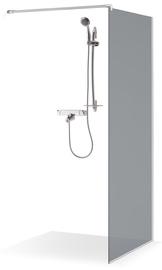 Dušas siena Brasta Glass Dija, 1000 mm x 2000 mm