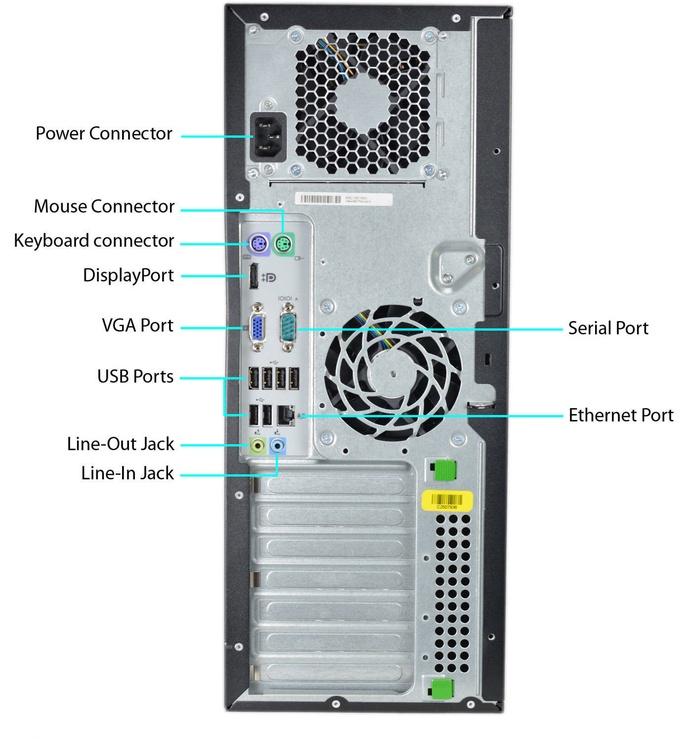 HP Compaq 8100 Elite MT DVD RM6725WH Renew
