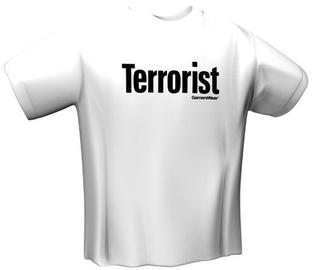 GamersWear Terrorist T-Shirt White S