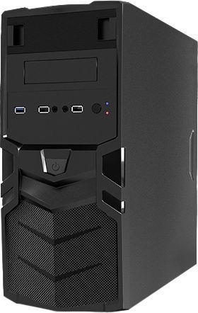 Mars Gaming MC016 Gaming Mid Tower mATX Black