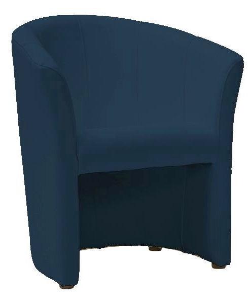 Atzveltnes krēsls Signal Meble TM-1 Navy Blue, 67x47x76 cm