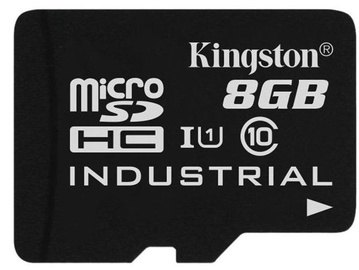 Kingston 8GB microSDHC UHS-I Class 10 Industrial Temperature Card