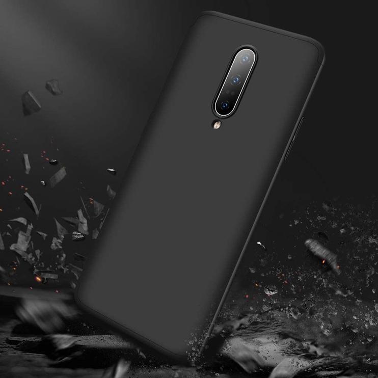 GKK 360 Protection Case For OnePlus 7 Pro Black